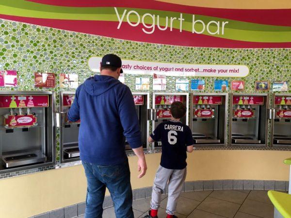 20+ dispensers at Menchie's Frozen Yogurt