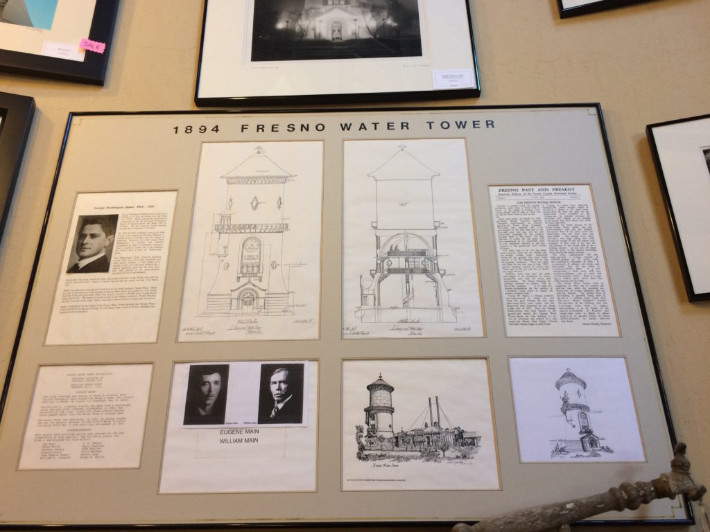information on Fresnos water tower
