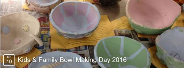 Clay Making Bowls Day