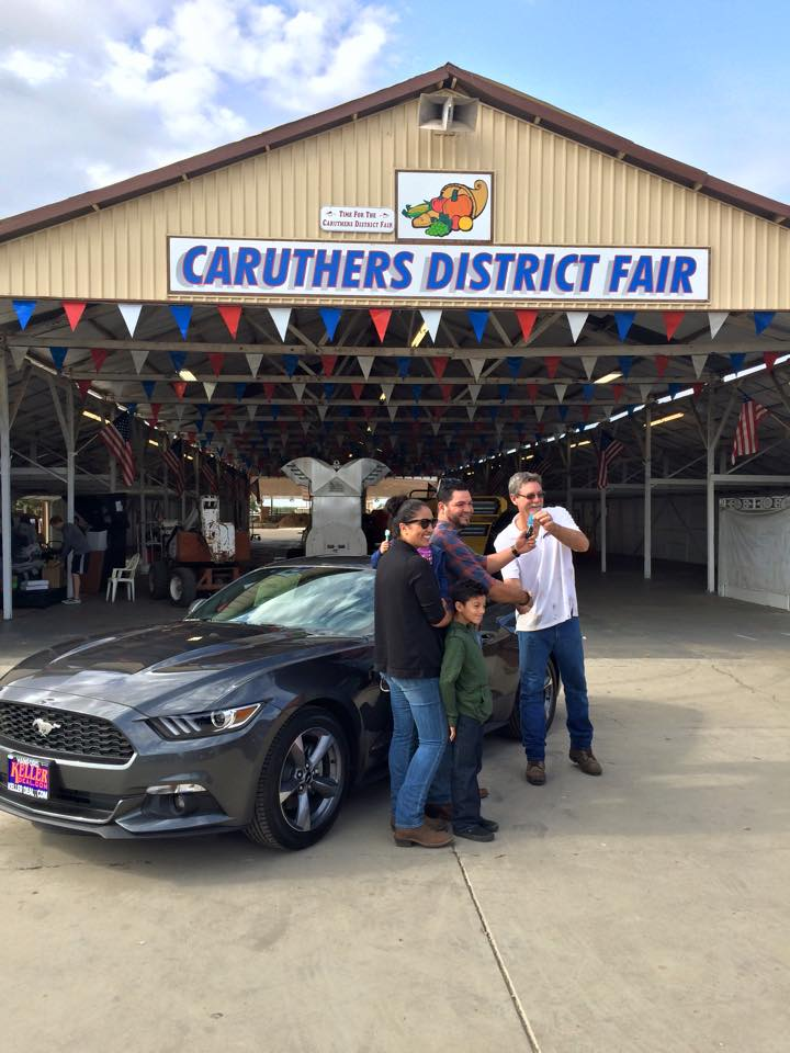 2015 Mustang Winner Courtesy: Caruthers District Fair Facebook Page