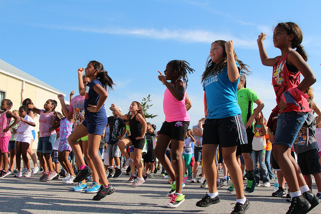 Zumba classes are a great way for all ages to get moving and have fun - join in one at CenCalVia!
