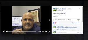 Facebook Live: What's on your desk?