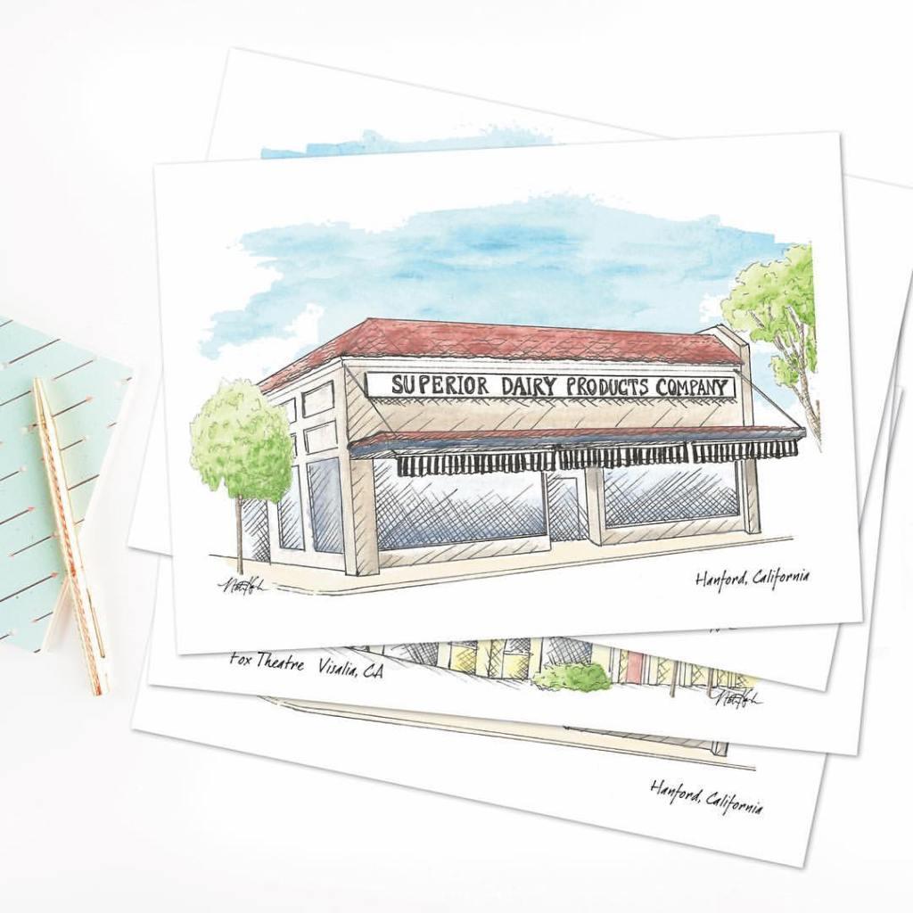 custom cards by Natasha Holland