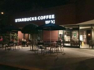 A Nostalgic Neighborhood Return for Starbucks on Herndon and Marks