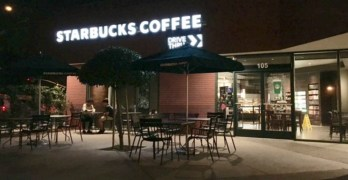 A Nostalgic Neighborhood Return for Starbucks on Herndon and Marks