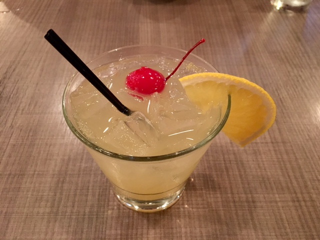 the Pineapple Express cocktail at KuniSama