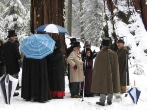 Trek to Nation's Christmas Tree