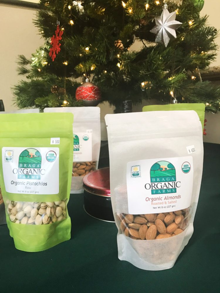 Trail Mix Fix: Braga Organic Farms Opens In Madera