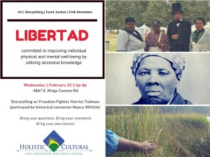Spend an Evening with Harriet Tubman at Fresno's Holistic Cultural and Education Wellness Center