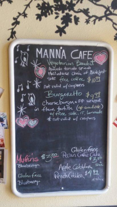 manna cafe gluten free