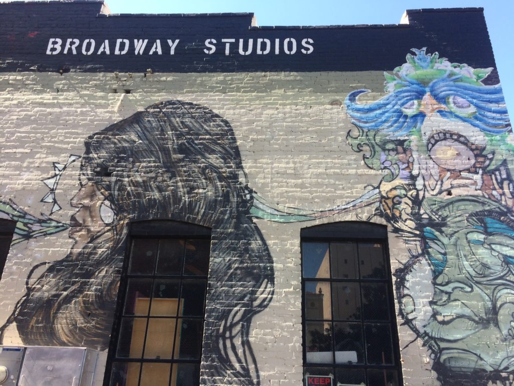broadway studios mural district