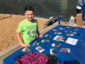 9-year-old Helps Hundreds Through School Supply Drive