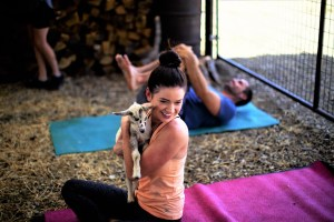 Namaste, nanny goat! Goat Yoga comes to the Central Valley