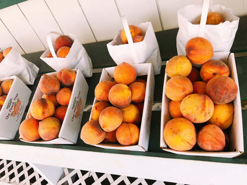 Wawona's Peach Tree