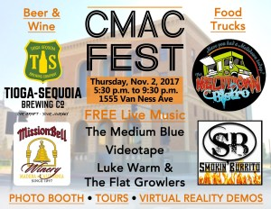 CMAC Fest is tonight in downtown Fresno
