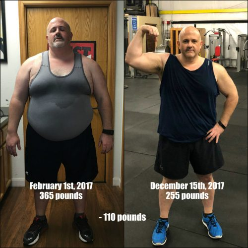 losing 135 pounds
