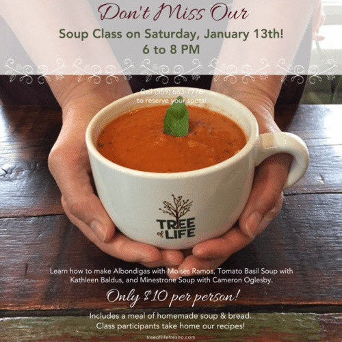 Learn to make soup
