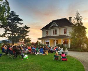 Enjoy literature, music and wine at Respite by the River