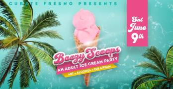 Tickets for the Boozy Scoops Adult Ice Cream Party on sale now