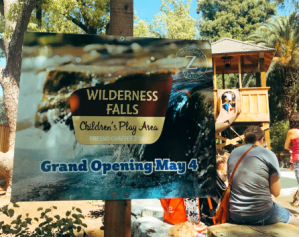 Wilderness Falls opens at Chaffee Zoo this week!