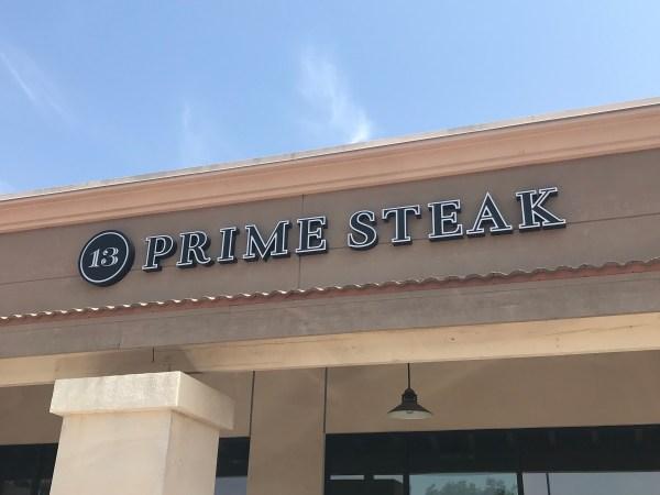 13 Prime Steak