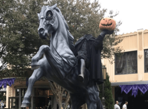 It's Halloween time at the Disneyland Resort!