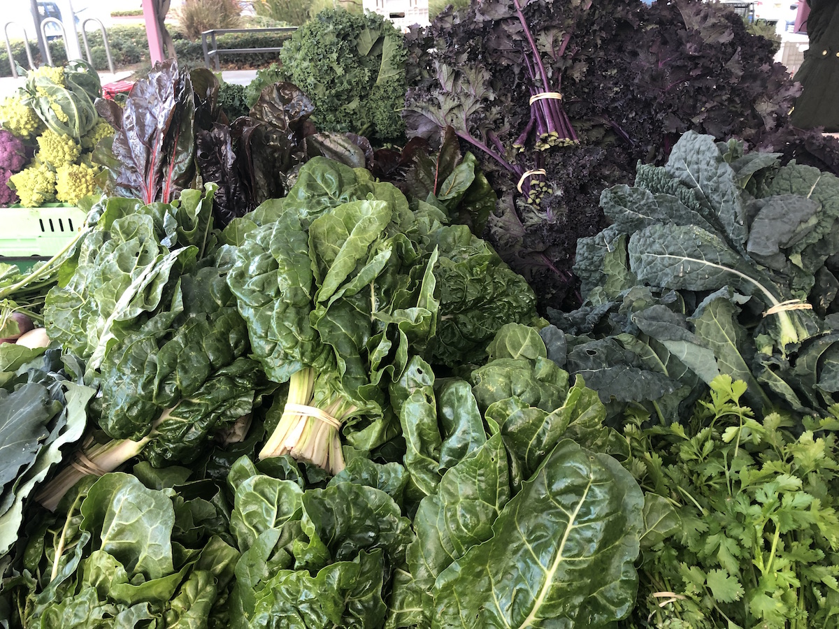 leafy greens for sale