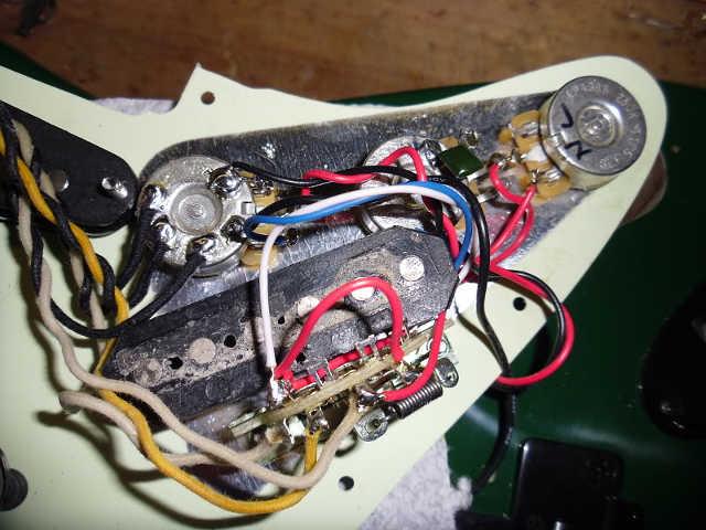 Stratocaster Pickup Wiring Diagram Single Coil Pickup Wiring Diagram