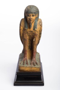 Human-headed Bird, Egyptian, Ptolemaic Period