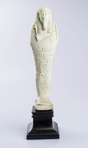 Shabti of Imhotep Born of Bastetirdis, Egyptian, Late Period