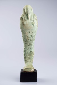 Shabti statuette, Egyptian, Late Period
