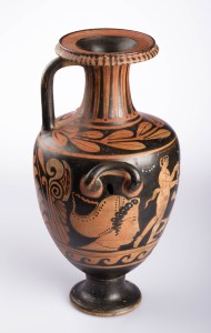 Red-figured Hydria, Greek, Classical Period