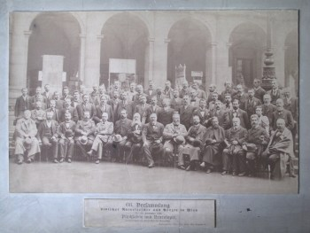 Image of meeting of society of German natural scientists and doctors