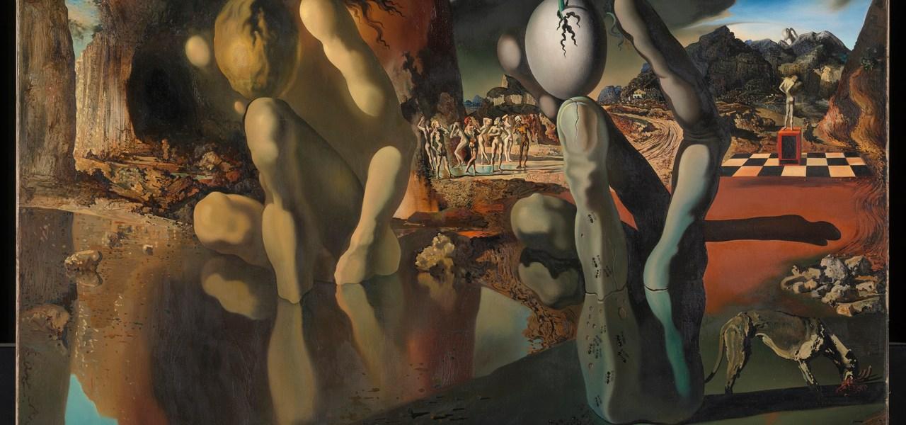 Metamorphosis of Narcissus, Salvador Dali