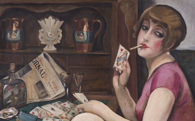 Philosophy, Psychoanalysis and Gender - Gerda Wegener, Queen of Hearts (Lili), 1928. Photo Morten Porsthumb