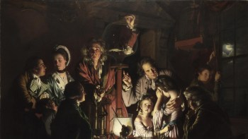 joseph wright of derby, an experiment on a bird, national gallery london