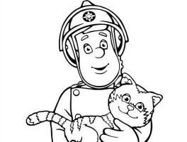 Feuerwehrman Sam Ausmalbilder Kostenlos Malvorlagen ...