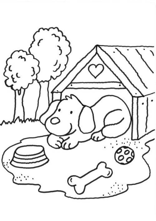 Hunde Ausmalbilder Kostenlos Malvorlagen Windowcolor zum