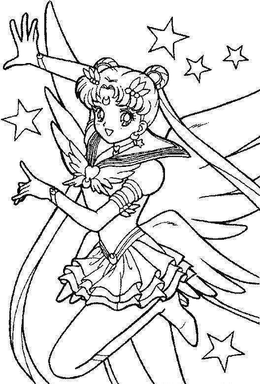 Sailor Moon Malvorlagen