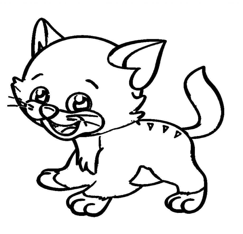 Katzen Ausmalbilder Kostenlos Malvorlagen Windowcolor zum