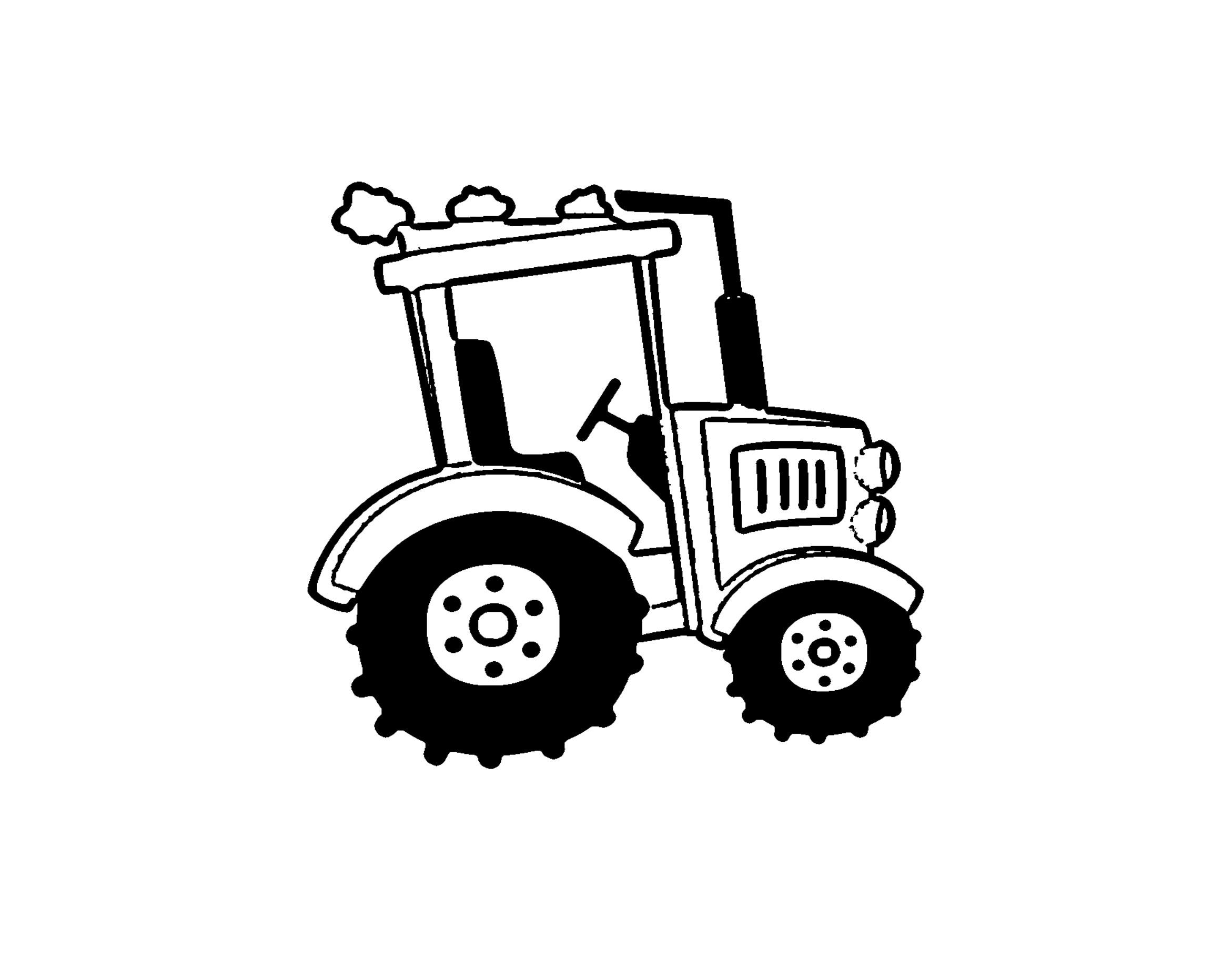 traktor ausmalbilder landwirtschaft  malvorlagen traktor