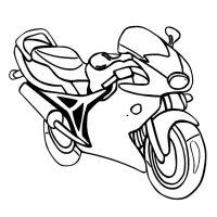 Motorrad Ausmalbilder Kostenlos Malvorlagen Windowcolor ...
