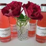Rosenblüten Sirup aus frischen Rosenblütenblättern