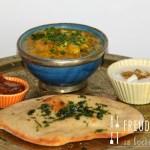 Dhal – Indische Linsen mit Zucchini