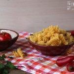 Nudelauflauf mit Zucchini & Feta – vegetarisch
