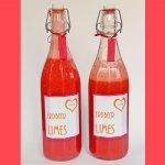 Erdbeer-Limes –> Achtung Suchtgefahr!