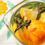 Orange Mint infused Water – Orange und Schoko-Minze