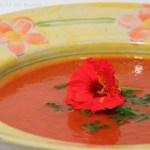 Tomaten Zucchini Suppe