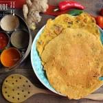 Besan ka Cheela –  pikante Kichererbsen Pancakes