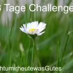 #ichtumirheutewasGutes Challenge